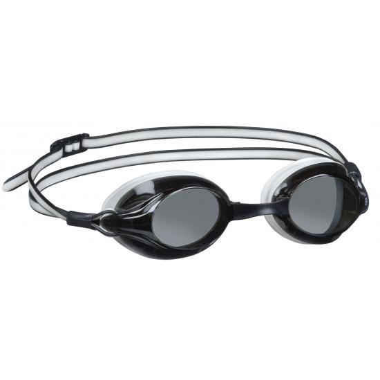 Duikbril met UV bescherming zwart/wit
