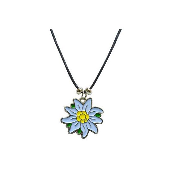 Edelweiss bloem collier