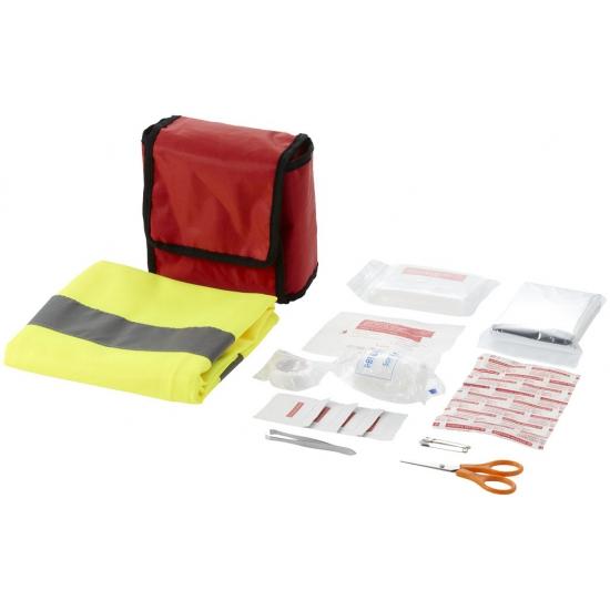 Eerste hulp kit voor in de auto 20 delig