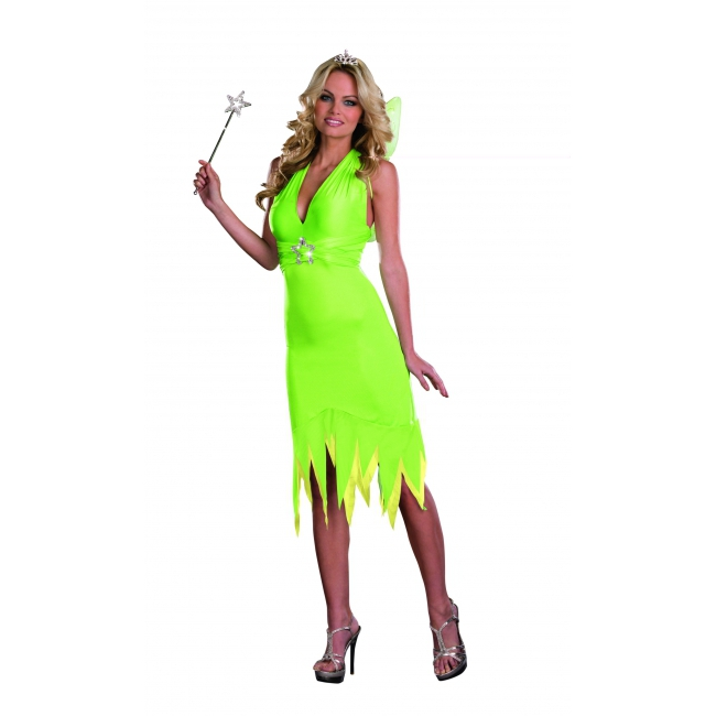 Elf kostuum lime groen met accessoires