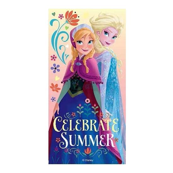 Elsa en Anna zomer handdoek