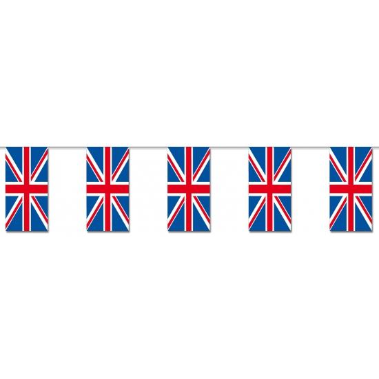 Engelse vlaggenlijn papier