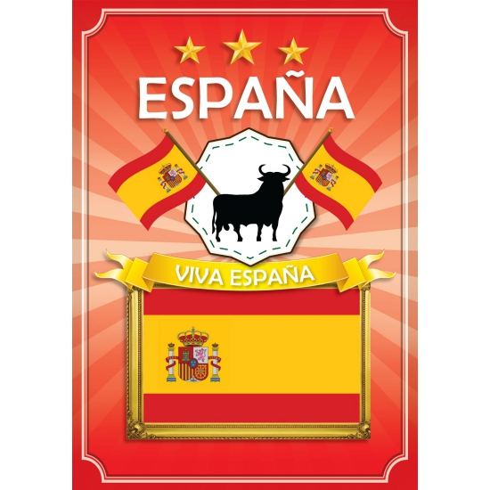 Espana thema deur posters