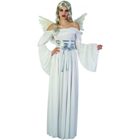 Evil angel jurk in het wit