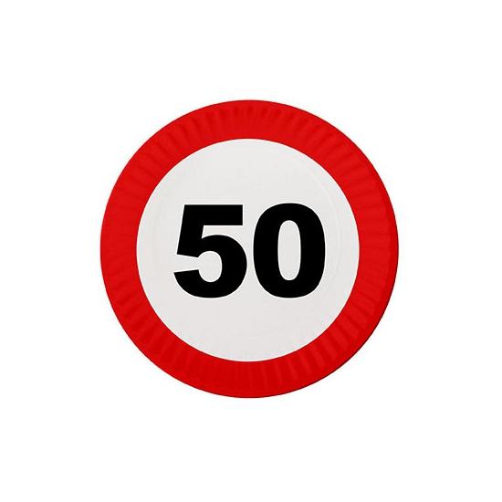 Feest borden 50 jaar