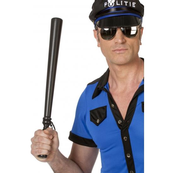 Feest politie gummiknuppel