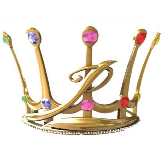 Feest Prinsessia kroon goud