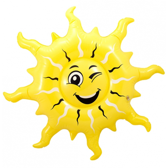 Feestartikelen opblaas zon