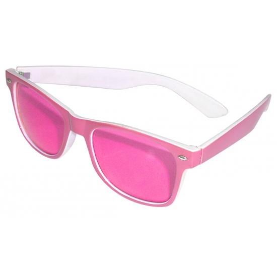 Feestbril roze