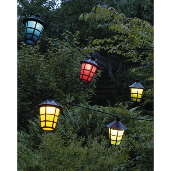 Feestverlichting lampionnetjes