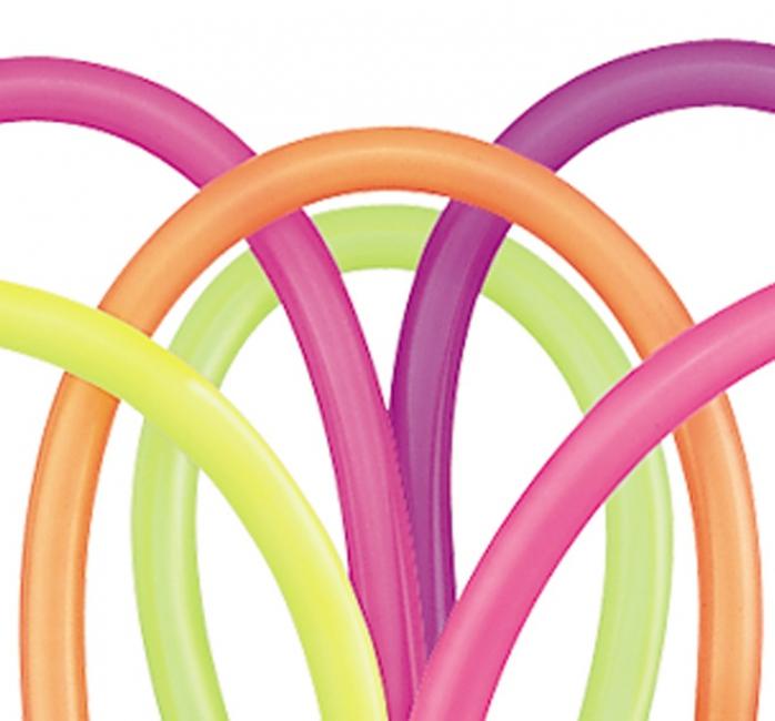 Fel gekleurde modelleerballonnen 100 stuks