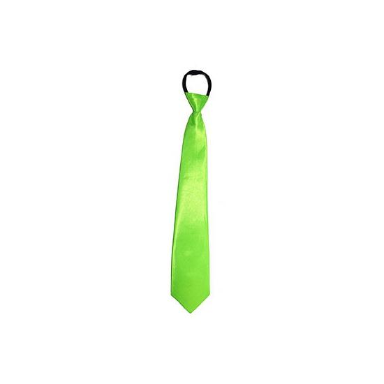 Fel groene neon stropdas