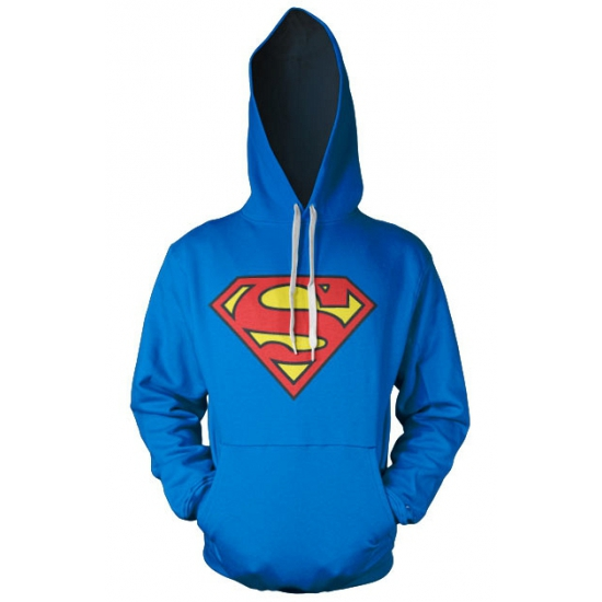 Film sweater Superman logo heren