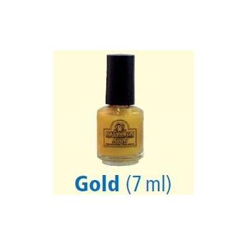 Flesje tandlak 7 ml goud