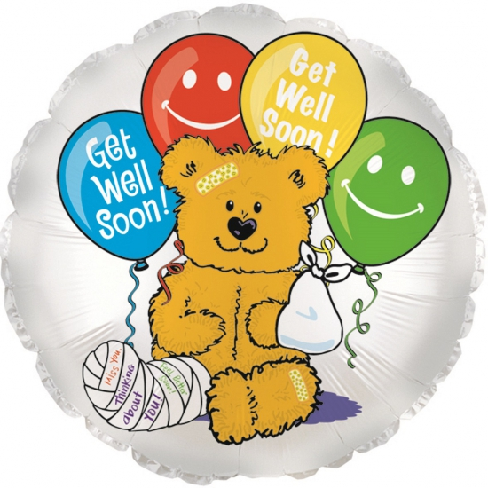 Folie ballon beer get well soon!