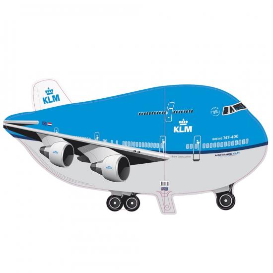 Folie ballon KLM vliegtuig