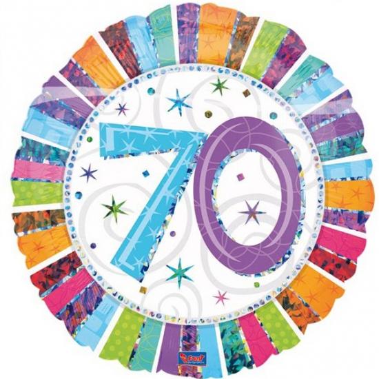 Folie ballonnen 70 jaar