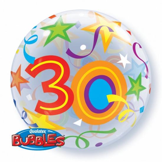 Folieballon helium 30 jaar