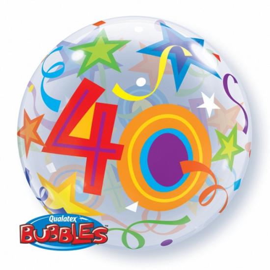 Folieballon helium 40 jaar