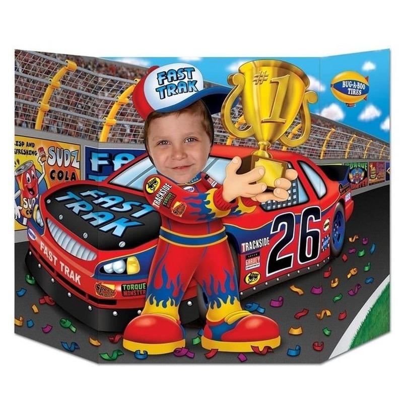 Foto bord Formule 1 coureur