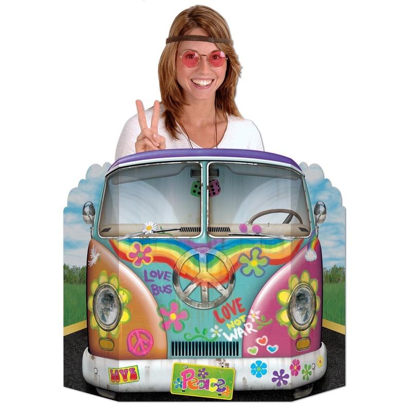 Foto bord hippiebus