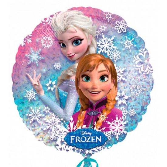 Frozen ballon met heliem