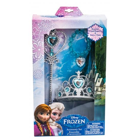 Frozen prinsessen set 3 delig