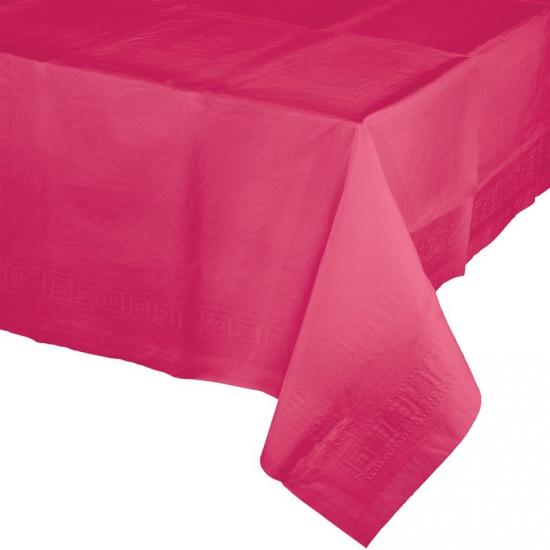 Fuchsia roze tafelkleed 274 x 137 cm