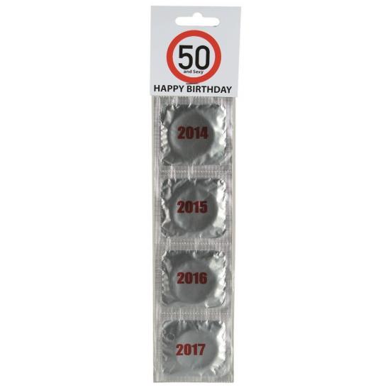 Fun condooms jaren 50 jaar