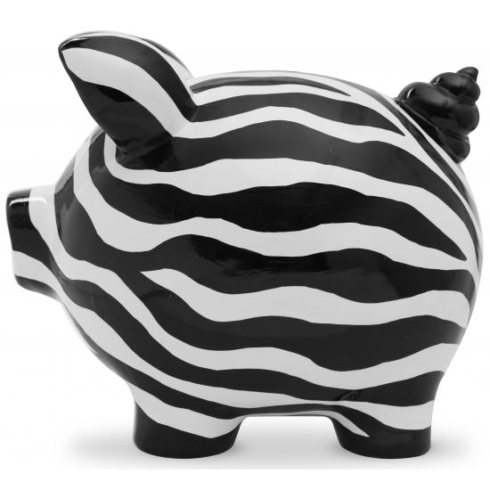 Gadget spaarpot varkentje Ziggy Zebra 20 cm