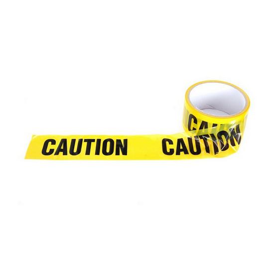 Geel Caution lint