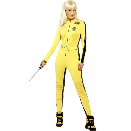 Geel Kill Bill outfit voor dames