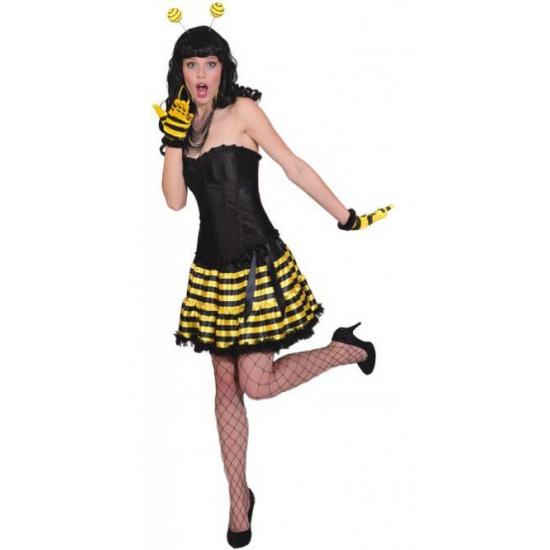 Geel zwart gestreept rokje