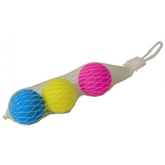 Gekleurde beachball ballen 3 stuks