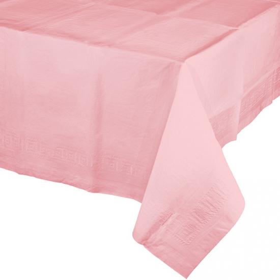 Gekleurde tafellaken lichtroze