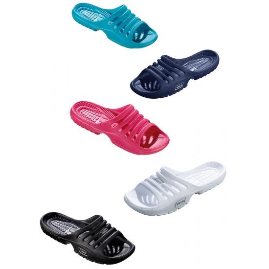 Gekleurde zwembad sandalen voor dames