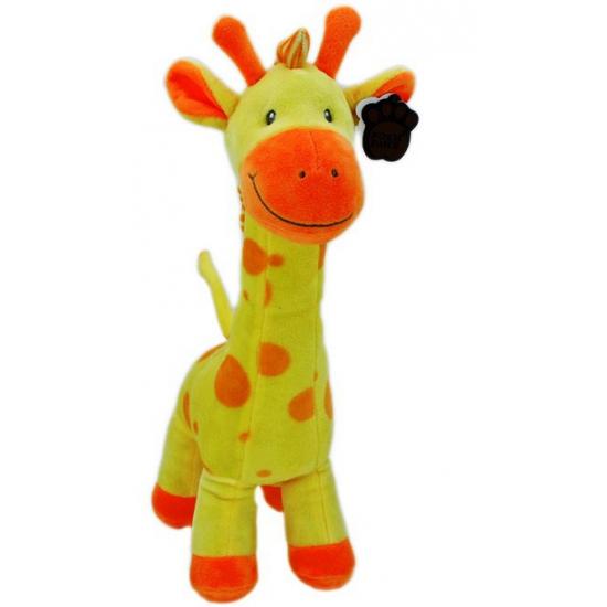 Gele giraffe knuffels