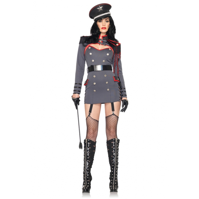 Generaal Punishment leger kostuum voor dames