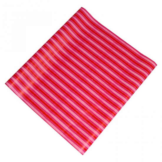 Geschenkpapier roze strepen