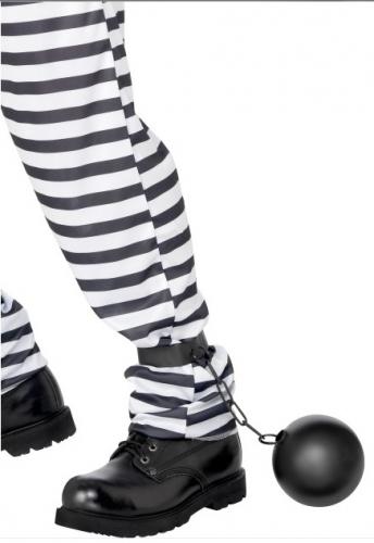 Gevangenis bal met ketting