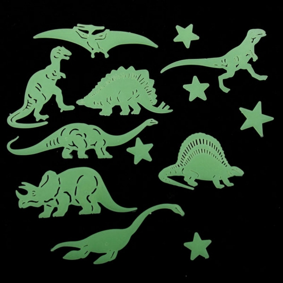 Glow in the dark sterrenhemel dino