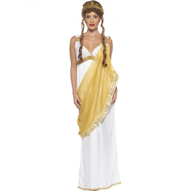 Goud met wit Helena van Troje kostuum