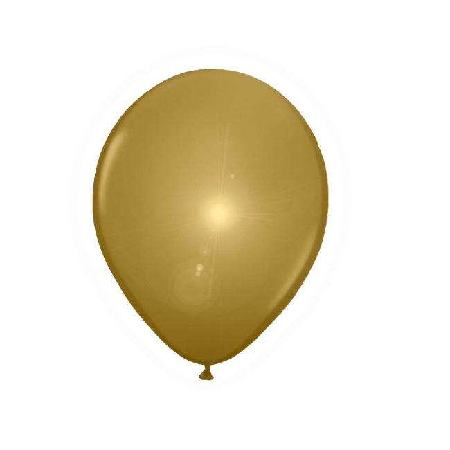 Gouden ballonnen met LED lichtjes