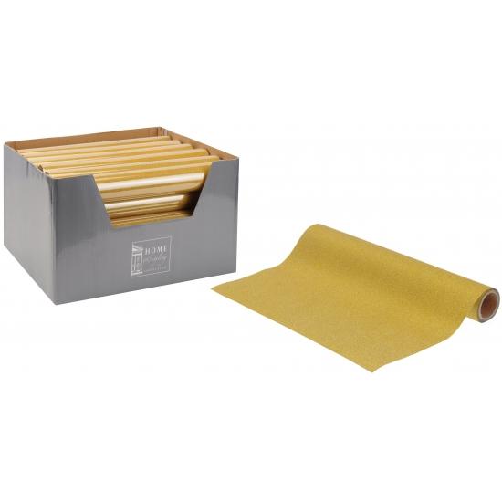 Gouden decoratie op rol 28 cm breed