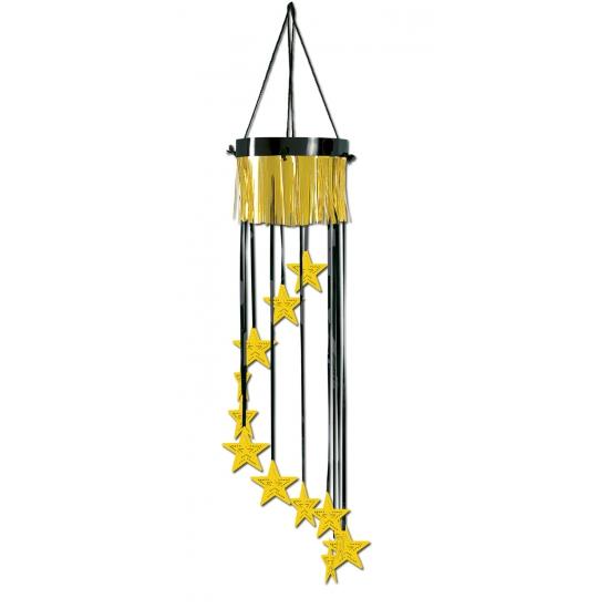 Gouden feest decoratie met sterretjes