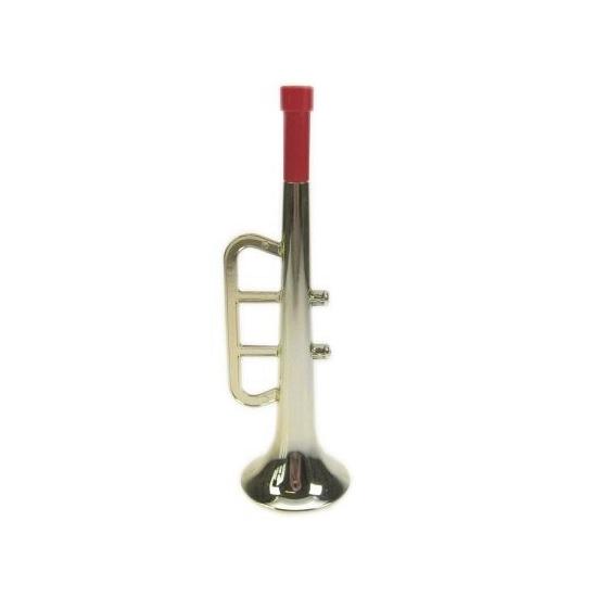 Gouden plastic trompet