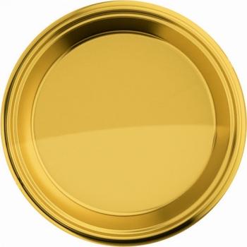 Gouden wegwerp bordjes 8 stuks