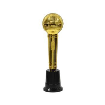 Goudkleurig award microfoon