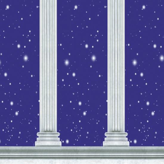 Griekse muurdecoratie 9 meter
