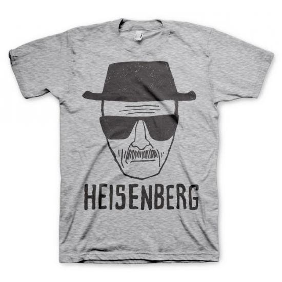 Grijs Heisenberg Sketch t shirt